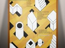 Плакат всероссийского фестиваля Архитектуры и Дизайна, 2000 год