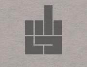 Знак в стиле Bauhaus