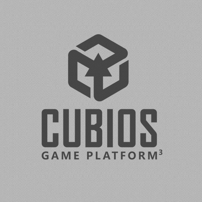 Логотип для игровой платформы Cubios